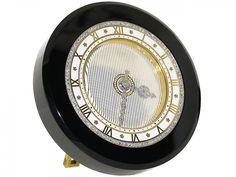 Cartier Art Deco Clock with Diamonds #504330