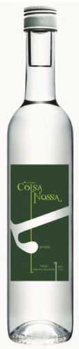 Coisa Nossa Silver (Prata) Cachaça  Proof66 Notes  Coisa Nossa is a brand of Cachaca produced out of Brazil named for the distillery located in Espirito Santo. It is a kind of Brazilian craft distillery in that the it launched in 2005 from the efforts of local farmers raising their own sugar cane and producing their own cachaca on site. Coisa Nossa Silver (Prata) Cachaca is bottled un-aged as the classic spirit of Brazil.