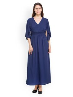 Oxolloxo Blue Maxi Dress