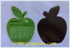 high quality 2D flat rubber fridge magnet