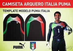 Diseños, Vectores y Templates para Camisetas de Futbol: ARQUERO ITALIA 2012…