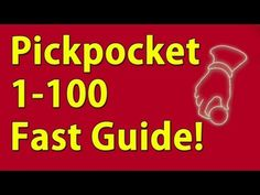 Pickpocket 1-100 Guide Skyrim Fastest way to level! - YouTube