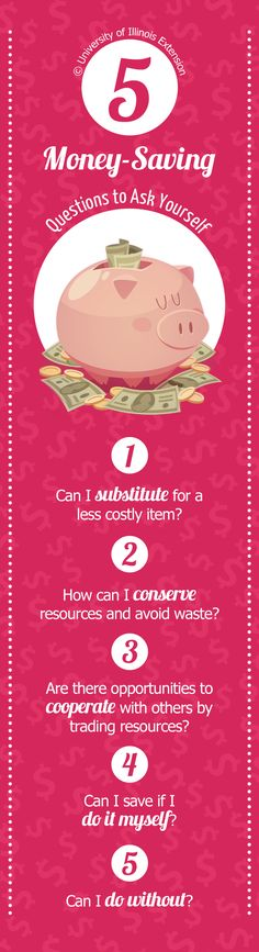 5 Money-Saving Questions to Ask Yourself