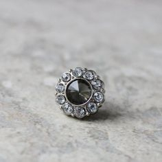 Black Diamond Tie Tack Pins Mens Gifts Gifts for Him Mens Tie...