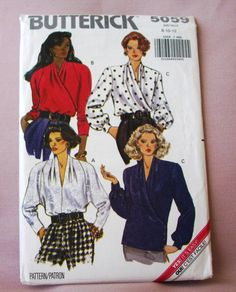 Sale 1990 Uncut Butterick Pattern 5059 by lovelylovepatterns, $3.50