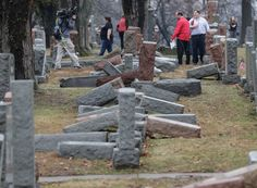 Muslim Americans raised over $25,000 to repair vandalized Jewish cemetery in Missouri. This is how Americans should come together in the face of hate.