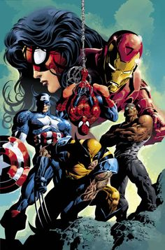 The New Avengers by Mike Deodato Jr