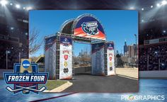 Prographics was thrilled to be the graphics partner for The Frozen Four Championship.The NCAA Men's Ice Hockey Championship has been played since 1971 and officially called The Final Four since 1999. It brings out the best in college hockey fans and players. With a sport like this, we think they all had an ice day!