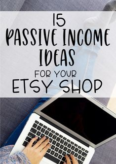 Passive Income - 15 passive income ideas for your Etsy shop- grow your income without more working hours with these digital product ideas. Legendary Entrepreneurs Show You How to Start, Launch & Grow a Digital Hours of Training from Industry Titans Etsy Business, Craft Business, Business Tips, Online Business, Bakery Business, Make Money Blogging, Make Money From Home, Way To Make Money, Content Marketing