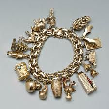tiffany gold globe charm - Google Search