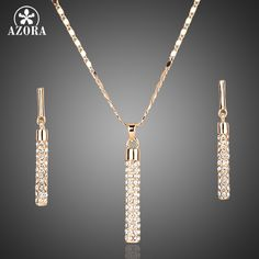 Fashion Jewelry Sets For Women Inlcuding 1 Pair Top grade CZ Water Drop Earrings and 1pcs Chain Pendant Necklace TG0195 That`s just superb! http://www.fashionobi.com/product/azora-fashion-jewelry-sets-for-women-inlcuding-1-pair-top-grade-cz-water-drop-earrings-and-1pcs-chain-pendant-necklace-tg0195/ #shop #beauty #Woman's fashion #Products
