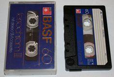 Vintage MC Cassette Tape - BASF 60 ferrochrom III - gebraucht / used - Germany