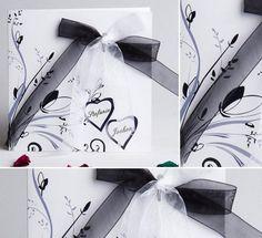 Schwarz und Weiß Hochzeitsthema Ideehttp://www.optimalkarten.de/blog/schwarz-und-weis-hochzeitsthema-idee/