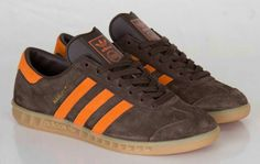 LOVIN THE COLOURWAY, LOVIN THE COLOUR DESCRIPTION EVEN MORE - MUSTANG BROWN/LIGHT ORANGE/GUM HAMBURGS - BRILLIANT!