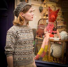 A family Fair Isle – Ysolda Ltd Fair Isle Knitting, Hand Knitting, Knitting Designs, Knitting Projects, Knit Stranded, Fair Isles, Fair Isle Pattern, Cozy Fashion, Mori Girl