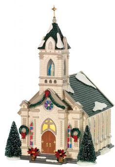 Department 56 Original Snow Village, Our Lady of Grace Church