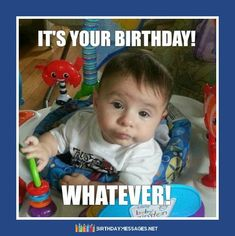 Funny Birthday Wishes & Funny Birthday Quotes: Funny Birthday Messages Funny Birthday Message, Happy Birthday Wishes Messages, Birthday Wishes For Friend, Birthday Wishes Quotes, Happy Birthday Me, It's Your Birthday, Birthday Toast, Birthday Poems, Birthday Cards