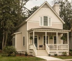 Duval (153103) House Plan (153103) Design from Allison Ramsey Architects #Cottage #LowCountryCottage #CottageLiving