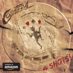 New EP by Rock band Collateral - 4 Shots. Album Releases, Compass Tattoo, Rock Bands, Vintage World Maps, Shots, Albums, November
