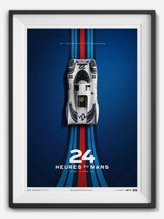 Porsche 24 Hours of Le Mans Limited Edition, art - Bachelor Haus Le Mans, Porsche Club, Martini Racing, Honda Cb750, Car Posters, Lamborghini Gallardo, Drag Racing, F1 Racing, Courses