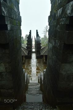 Portal to Another Universe - Portal to Another Universe, Four Gates of Candi Cetho (Cetho Temple) @ Karanganyar, Central Java right after a heavy rain with thick fog Asian Games, Ancient Art, Doorway, Java, Temple, Universe, Culture, Architecture, Game Art