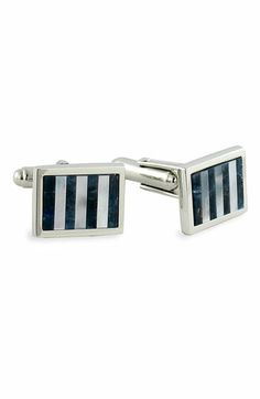 David Donahue Sterling Silver Cuff Links available at #Nordstrom 185