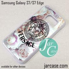 Versace Flower Arrt Phone Case for Samsung Galaxy S7 & S7 Edge
