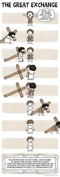 Christian Comics, Christian Cartoons, Christian Jokes, Christian Art, Bible Pictures, Jesus Pictures, Jesus Drawings, Jesus Cartoon, Christian Backgrounds