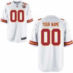 96231f98e Kansas City Chiefs  0 Mens White Limited Customized Jersey Nike NFL Jersey  (S-