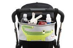 ***ON SALE***These handy, and not to mention trendy pram organisers will keep all your essentials organized and at hand while out and about! The #strollerorganizers are completely wipe able and have two insulated drink holders, perfect for a sippy cup or bottle.