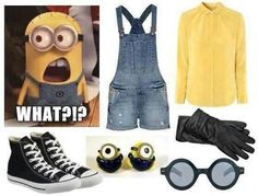 Minion Costume! Definitely doing this for Halloween :)