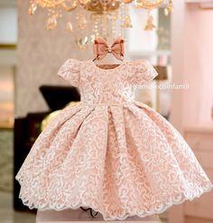 No photo description available. Baby Girl Frocks, Baby Girl Party Dresses, Frocks For Girls, Kids Frocks, Girls Formal Dresses, Little Girl Dresses, Flower Girl Dresses, Baby Girl Fashion, Kids Fashion