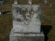 John Holm  1853-1946 & Nancy Elizabeth Hundley Overton 1855-1917