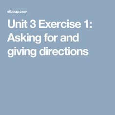unit 3 exercise 1 Start studying volume 1 unit 3 review exercise learn vocabulary, terms, and more with flashcards, games, and other study tools.