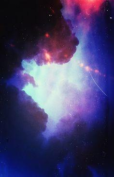 Nebula star dust~*~ looks like a big cat face :)