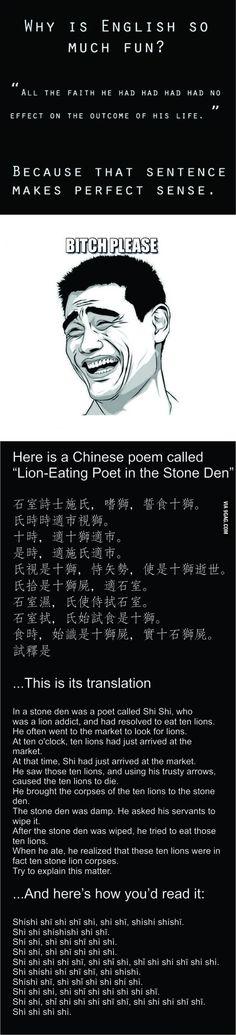 Chinese homophones (no homo)