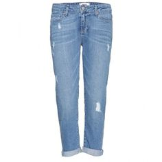 Paige Jimmy Jimmy Crop Boyfriend Jeans found on Polyvore