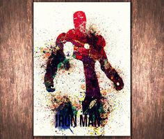 Hey, I found this really awesome Etsy listing at https://www.etsy.com/listing/211212120/superhero-iron-man-tony-stark-watercolor