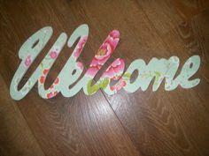 WELCOME gepimpt met pip behang