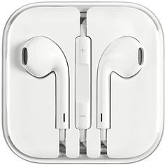 Apple iPhone EarPods Plug Earphone<br> Genuine Apple EarPods, iPhone earphones Original packaging with plastic still intact. Never opened. Apple Iphone, Iphone 5s, Lightning Jack, Apple Earpods, Siri Talk, Ipod Classic, Electronic Recycling, Ipod Nano, Sound Design