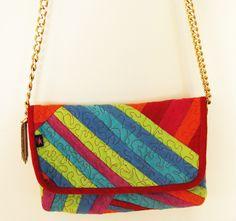 Small  #crossbody #ladybag with #golden #chain #handmade #kreatura #veganleather