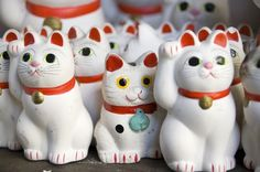 Lucky Cats ~From Fiona Baker