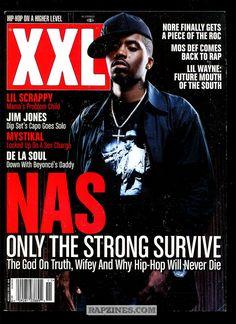 XXL Magazine Nas covers XXL Magazine November 2011