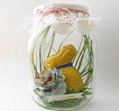 Janine Mattis Designs - Ostern im Glas