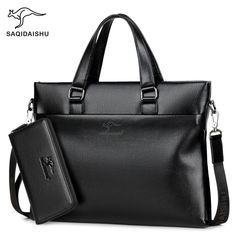 10853109f5d Casual Fashion Men Briefcase Leather 14