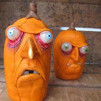 pumpkin heads, snowmen and more