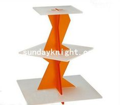 Double color muffin cake display stands