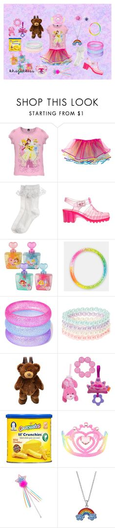 """""""oh word?"""" by comakitty ❤ liked on Polyvore featuring Disney, Monsoon, Lelli Kelly, Gerber and Silver Luxuries"""