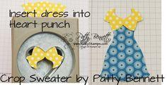 "how to alter Dress Up framelits - ""daisy duke"" crop top"