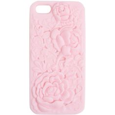 Floral Embossed iPhone 5 Case found on Polyvore